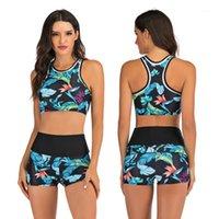 Drozeno kadın spor mayo bölünmüş iki parçalı plaj mayo voleybol giyim 18 renk1