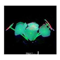 11 feuilles de poissons artificiels aquarium aquarium corail ornement d'ornement d'ornement de l'ONU QYLUXO BDenet