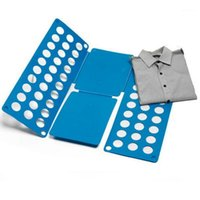 شماعات الرفاقات تي شيرت بولو أضعاف الملابس للطي لوحة للأطفال صغيرة الحجم الغسيل السريع مجلد الملابس 1