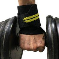 1PC 체육관 피트니스 조정 가능한 손목 밴드 탄성 붕대 역도 파워 플리프 통기성 손목 지원 도구 KG-1077