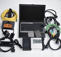 MB SD Connect C5 Diag + para B MW icom Diag A2 B C + 2020.09V 1TB HDD + D630 (4GB) Laptop MB Estrela C51