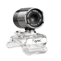 Веб-камеры AONI 640x480P 30FPS USB WebCam для игровой камеры MIC Clip на компьютере Ноутбук веб-ноутбук Fast Ship Video Conference CMOS1