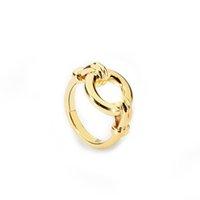 فارول جوفاء دائرة خواتم للنساء لون الذهب الدائري هندسية الأزياء والمجوهرات حزب anillos سيدة الهدايا brincos