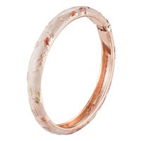 Women's Holiday Gift Floral Bangle Fashion Jewelry Girls accessories newest color 55B30