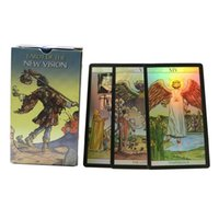 New Vision Shine Tarot Cards Rider Tarot Deck Holographic Di...