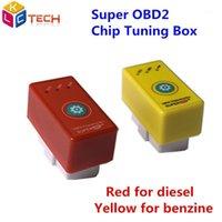 20 adet NITROOBD2 Sıfırlama Düğmesi Ile Güç Prog Dizel / Benzin Arabalar için Çip Tuning Kutusu Fiş Sürücü ECO OBD2 Daha Güç Torque1