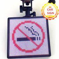 P4 블루투스 12V 자동차 LED 로그인 앱 제어 RGB 스크린 프로그래밍 가능한 프리셋 스크롤 메시지 LED 디스플레이 보드 드롭 배송 선물 DIY