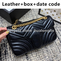 Women Handbag Original box Bag Date Code Genuine Leather Purse shoulder cross body messenger bag