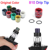 810 drip tip snake skin shape long Epoxy Resin TFV8 Drip Tip well fit TFV8 Big Baby TFV12 Prince 810 Atomizers