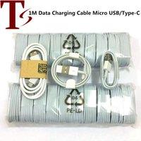 안드로이드 핸드폰에 대한 1M 범용 데이터 충전기 케이블 마이크로 USB 타입 C는 빠른 삼성 S7 S8 S9 S10 화웨이을 위해 케이블을 충전 P30 P40 적합