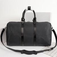 Klasik Moda Seyahat Çantası Bayan Erkekler Crossbody Luxurys Tasarımcılar Duffle Çanta Bayanlar KeeBall Açık Kadın Bagaj Kamera Çanta Erkek Boyutu 45 50 55