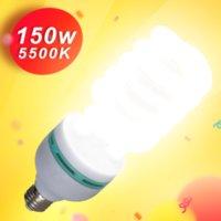 150W التصوير الإضاءة LED لمبات 135W 45W E27 قاعدة 5500K مصباح ضوء النهار لمبة لاستوديو الصور الفوتوغرافي Softbox معدات الإضاءة
