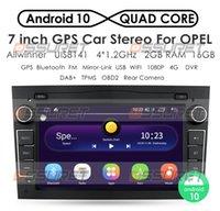 Android 10 رباعية النواة 2G سيارة غير دي في دي لاعب الوسائط المتعددة الملاحة ل Vauxhall Astra H G J Vectra Antara Zafira Corsa Car DVD