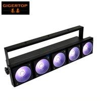 TIPTOP 1 팩 200W 슈퍼 강력한 RGB 무대 LED 벽 세탁기 빛 5x30W 3IN1 선형 색상은 방수 변경