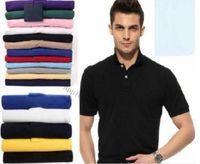 2021 Mens Designer Polos Brand Brand Piccolo Cavallo Coccodrillo Ricamo Abbigliamento Uomo Tessuto Tessuto Lettera Polo T-Shirt Collare Casual T-shirt T-shirt Tops