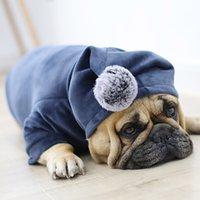 Winter Haustier-Hunde-Bekleidung Französisch Bulldog Kleidung für Hunde Mantel Fat Dog Jacke Haustier-Kleidung für Hund Hoodies Ropa Perro Yorker