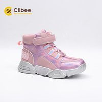 CLIBEE Newly Kids Ankle Outdoor Sneaker Boots Girls Winter S...