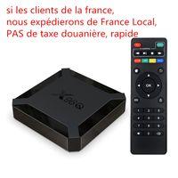 جديد وصول x96q مربع التلفزيون الروبوت 10.0 H313 2 جيجابايت 16 جيجابايت الذكية التلفزيون مربع رباعية النواة 2.4 جرام wifi 4 كيلو تعيين أعلى مربع