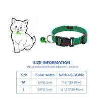Sicherheit Hundekatze Outdoor Anti Floh MIDE Tick Kragen Halsband Einstellbare Nylon-Hunde Halsbänder Effektiv Insektizid Kil WMTFLE