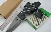 Piranha Ayan 6803z 접이식 나이프 전술 생존 440C 블레이드 안티 슬립 패턴 유리 섬유 손잡이 야외 캠핑 사냥 EDC 도구