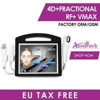 3 в 1 4D Hifu Micro-legle Factional RF Secret VMAX Лицо Лицо Acne Scar Удаление красоты Устройство красоты