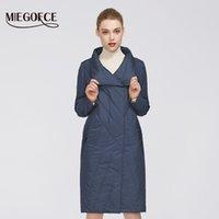 Orta Uzunluk ve Dayanıklı Yaka ile MIEGOFCE Yeni Bahar Koleksiyonu Kadın Kat Sıcak Ceket Çift Soğuk Koruma 201012 Has
