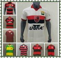 Retro CR 2004 Flamengo Futebol Jersey Flamenco 2008 Retro Camisa de Futebol Guerrero Diego Camisa de futebol Maillot s-2xl