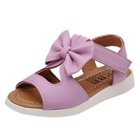 Muqgew طفلة الصيف أطفال الصنادل الأطفال الأزياء bowknot الفتيات flat pricness أحذية y201028
