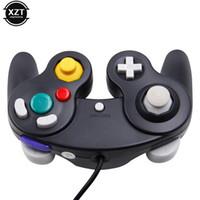 게임 컨트롤러 조이스틱 1PC 고품질 Joypad 핸들 스틱 패드 컨트롤러 Wii GameCube 용 유선