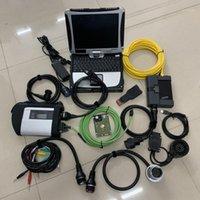 Diagnosewerkzeug Super 2in1 MB Star C5 und für BMW ICOM A2 mit Software 2021.03 HDD SSD 1TB installiert in Laptop CF-19 Diagnostics PC