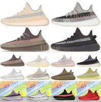 2020 ABEZ Cinder reflective earth Oreo running shoes kanye west v2 Runner desert sage Zyon Yecheil Black Static men women sports sneakers yeezy yeezys yezzy yezzys 350 v2 boost