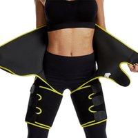 Apoio da cintura 2021 Siamese cinto de emagrecimento de pêlos de perna de tiftores Aquecedor Shaping Shaping Pernas Gordura Gordura Thermo Compress