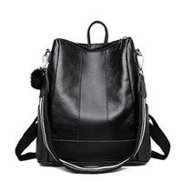 Design de luxo mulheres petróleo pu mochila casual mochila sacola adolescente escola trackpack mochila mochila escolar militar