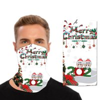 Chirstmas Designer Mask Magic Headscarf Outdoor Sports Headb...