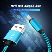1M 3FT Micro USB Cable Fast Charging Nylon USB Sync Data Cor...