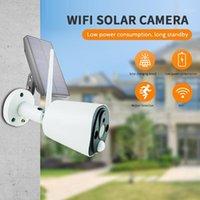 Caméscopes Caméra Solar Energy Caméra EXTÉRIEUR DE RÉSEAU SANS FIL BATTERIE POWER IP 1080P Sécurité imperméable CCTV1