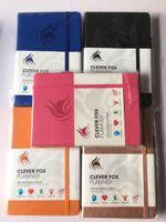 Notepads الشهري أسبوعي مخطط جدول أعمال المنظم مذكرات دفتر القرطاسية هدية اليومية تتبع الهدف خطة A5 الجلود غلاف مكتب