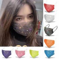 2020 moda yüz maskeleri tasarımcı yüz maskeleri kadın Cadılar Bayramı elmas maskeleri moda yapay elmas yüz maskesi ile pullar güneş kremi maske maske