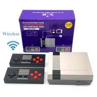 8 Bit 2.4G Kablosuz Video Oyun Konsolu Retro TV Konsolu Kutusu AV Çıkışı Çift Oyuncu Kontrol Cihazı Klasik Nes Oyunları için 620 yılında inşa