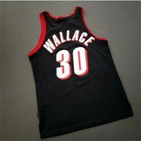 Custom 604 Juventud Mujeres Vintage Rasheed Wallace Vintage 911 Jersey College Basketball Jersey ST-4XL o CUSTOM CUALQUIER NOMBRE O NÚMERO JERSEY