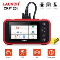 أداة تشخيص X431 CRP123i OBD2 لمحرك / AT / ABS / وسادة هوائية SRS متعدد اللغات التحديث مجانا CRP 123 CRP123E CRP123X