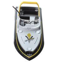 WOTT миниатюрный мини 3352 RC лодка радио дистанционного управления желтый ребенок игрушка