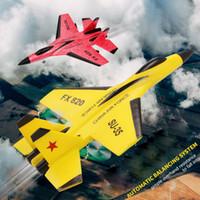 F16 SU35 RC Uçak EPP Köpük Uçan Planör Kanat Uçaklar 2.4G Electric'i Uzaktan Kumanda Uçak Phantom rc Fighter Oyuncak T200727 Fight Sabit