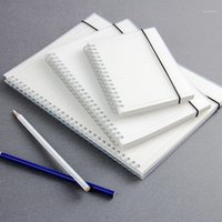 A5 A6 B5 دوامة كتاب لفائف دفتر الملاحظات to-do وضعت نقطة فارغة الشبكة ورقة مجلة يوميات الكراسة للوازم المدرسية القرطاسية 1