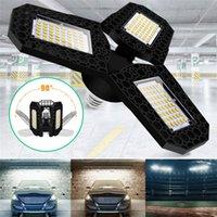 E27 Déformable LED Garage Light 3000K / 6000K Super Bright High Light High Bay Lumière pour l'atelier de garage Entrepôts Industrial
