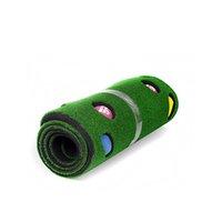 Внутренний гольф, положить мини-зелень Домашняя практика портативные положения тренажер офисный спортивный комплект коврик, ударяя гольф