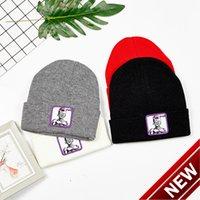 Cappello di lana coreana della lana coreana del cappello caldo della lana coreana del cappello da uomo e della lena da donna del fumetto del fumetto di stampa a colori puri