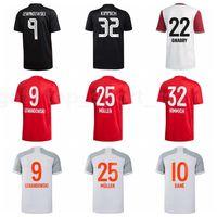 2021 Männer Fussball 9 Lewandowski 29 Coman Jersey 5 Pavard 14 Perisic 35 Zirkzee 17 Boateng 21 Hernandez Fußball Hemd Kits Uniform B-R