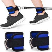 1 casal duplo loop d fivela torta tornozelo taekwondo perna protetora engrenagem esportiva com faixa de cinto de peso strre stre p3q7
