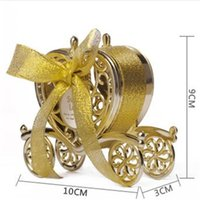 Bardian Love Carriage Wedding Boxes Metal Color Gift Candy Chocolate Box Plastics Romantic Party Favors Organizer 1 8bt E1